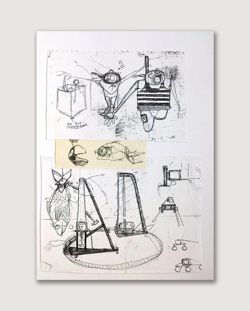 Benjamin Oliver Sketch 01