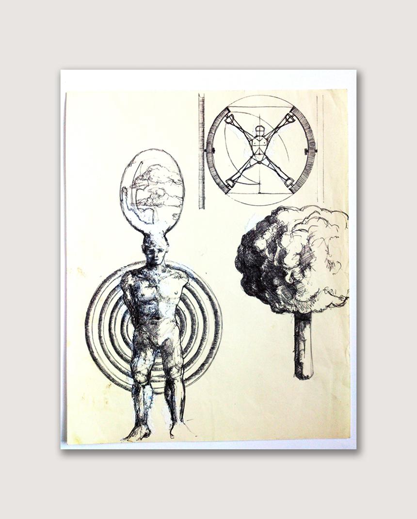 Benjamin Oliver Sketch 13