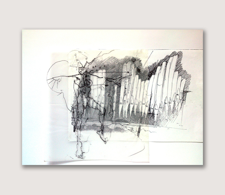 Benjamin Oliver Sketch 14